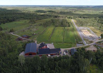 Flygbild över Stormyrakliniken | Veterinär Sisso Einarsson AB